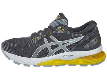 df64ee6d521f ASICS Gel Nimbus 21 Women s Shoes Dark Grey Mid Grey