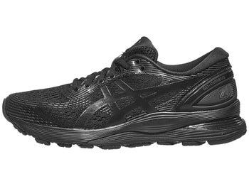 5eabad6d0584 ASICS Gel Nimbus 21 Women s Shoes Black Black
