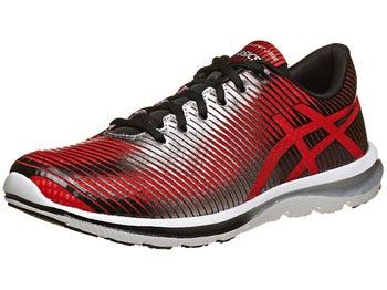 ASICS Gel Super J33 Mens Shoes Red/Lightning/Black