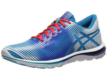 ASICS Gel Super J33 Womens Shoes Blue/White