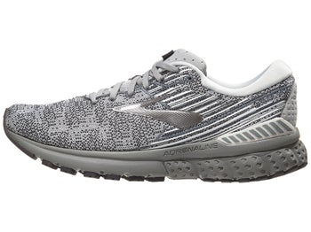1a335922031 Brooks Adrenaline GTS 19 Knit Men s Shoes Grey White