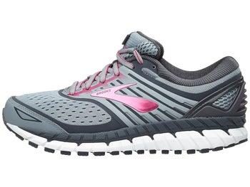 755fae3f89aaa Brooks Ariel 18 Women s Shoes Grey Grey Pink