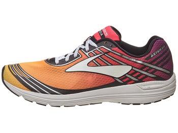 21e9c9439fc Brooks Asteria Women s Shoes Plum Caspia Pink Orange