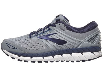 44f09129cce Brooks Beast 18 Men s Shoes Grey Navy White