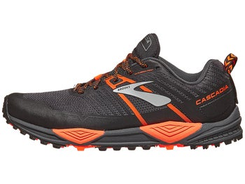 f6a5116e445 Brooks Cascadia 13 Men s Shoes Grey Black Orange