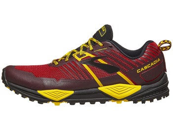 0af55be2288 Brooks Cascadia 13 Men s Shoes Red Yellow Black