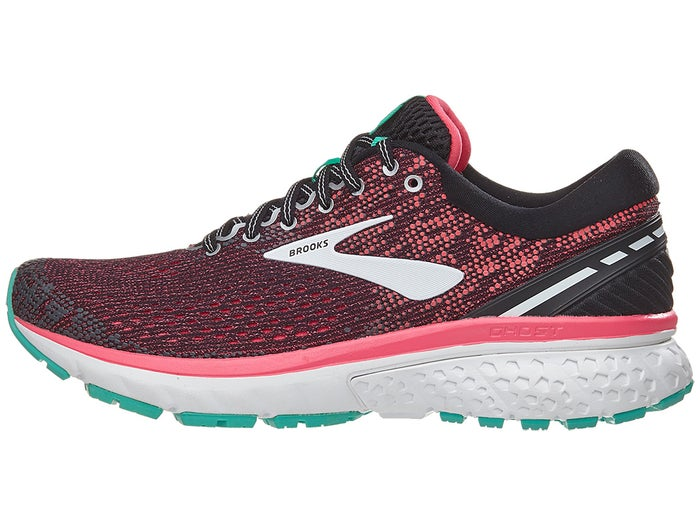 low price cheapest popular brand Brooks Ghost 11 Women's Shoes Black/Pink/Aqua