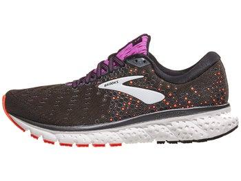 547d900c699e0 Brooks Glycerin 17 Women s Shoes Black Fiery Coral