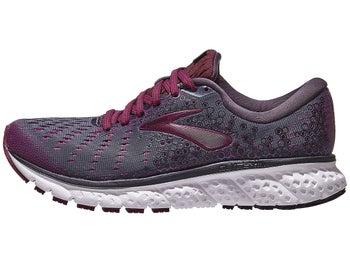 fba598286c61f Brooks Glycerin 17 Women s Shoes Ebony Wild Aster Fig