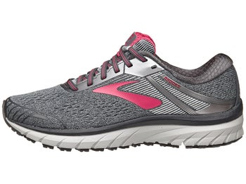 820e99ecc3ce0 Brooks Adrenaline GTS 18 Women s Shoes Ebony Silver