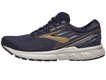 c28138eef80eb Brooks Adrenaline GTS 19 Men s Shoes Navy Gold Grey