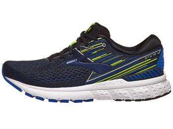c3f2f5d98eaa1 Brooks Adrenaline GTS 19 Men s Shoes Black Blue Night