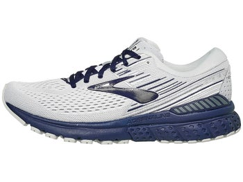 e9217f8091f86 Brooks Adrenaline GTS 19 Men s Shoes White Grey Navy