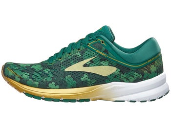 6f85c585d5e7f Brooks Launch 5 The Run Lucky Men s Shoes Green Gold