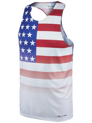 1ae9299d5ca2 BOA Men s Printed Singlet USA Flag