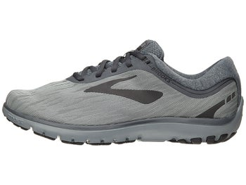 8fa90ee3fa2ed Brooks PureFlow 7 Men s Shoes Grey Grey Black