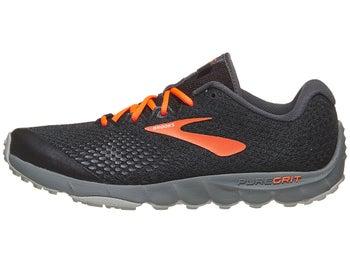 121fea85408 Brooks PureGrit 7 Men s Shoes Black Orange Grey