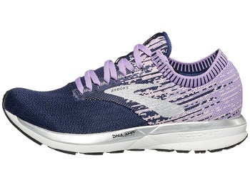 d17ea2830b4 Brooks Ricochet Women s Shoes Purple Lilac Navy