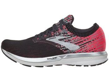 f297c1d76f8 Brooks Ricochet Women s Shoes Pink Black Aqua