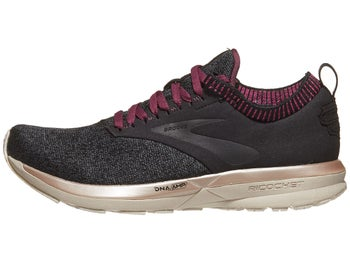 3edc05f03f1f6 Brooks Ricochet LE Women s Shoes Black Grey Pink