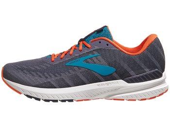 21102555c3e13 Brooks Ravenna 10 Men s Shoes Ebony Navy Mandarin