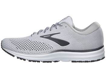 d9170fe4115ac Brooks Revel 2 Men s Shoes White Grey Black