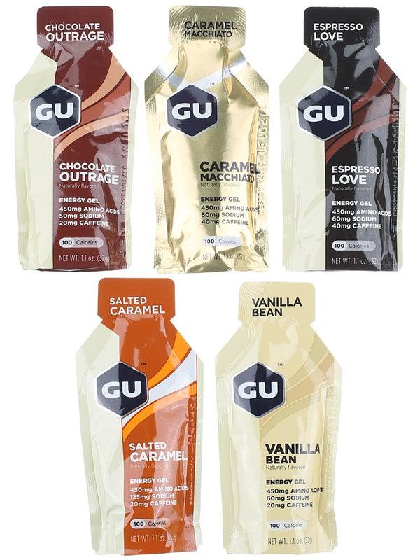 GU Energy Gel Indulgent Flavor Mix 24-Pack