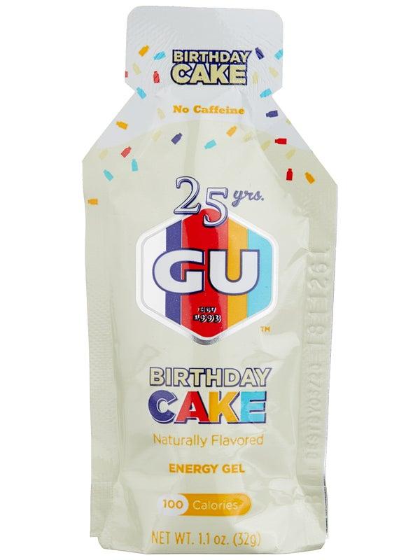 GU Energy Gel 8-Pack Birthday Cake