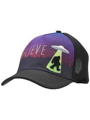 83c165935f5d7 Headsweats Alien Foot 5-Panel Trucker Hat