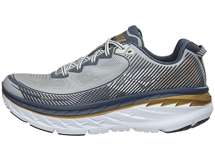 premium selection 2589d 10e10 HOKA ONE ONE Bondi 5 Men's Shoes Cool Grey/Midnight