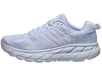 a0488c4f76 HOKA ONE ONE Clifton 6 Women's Shoes White/Lunar Rock