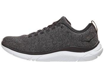 HOKA ONE ONE Hupana Wool Women s Shoes Grey White 2eadaf74ed3