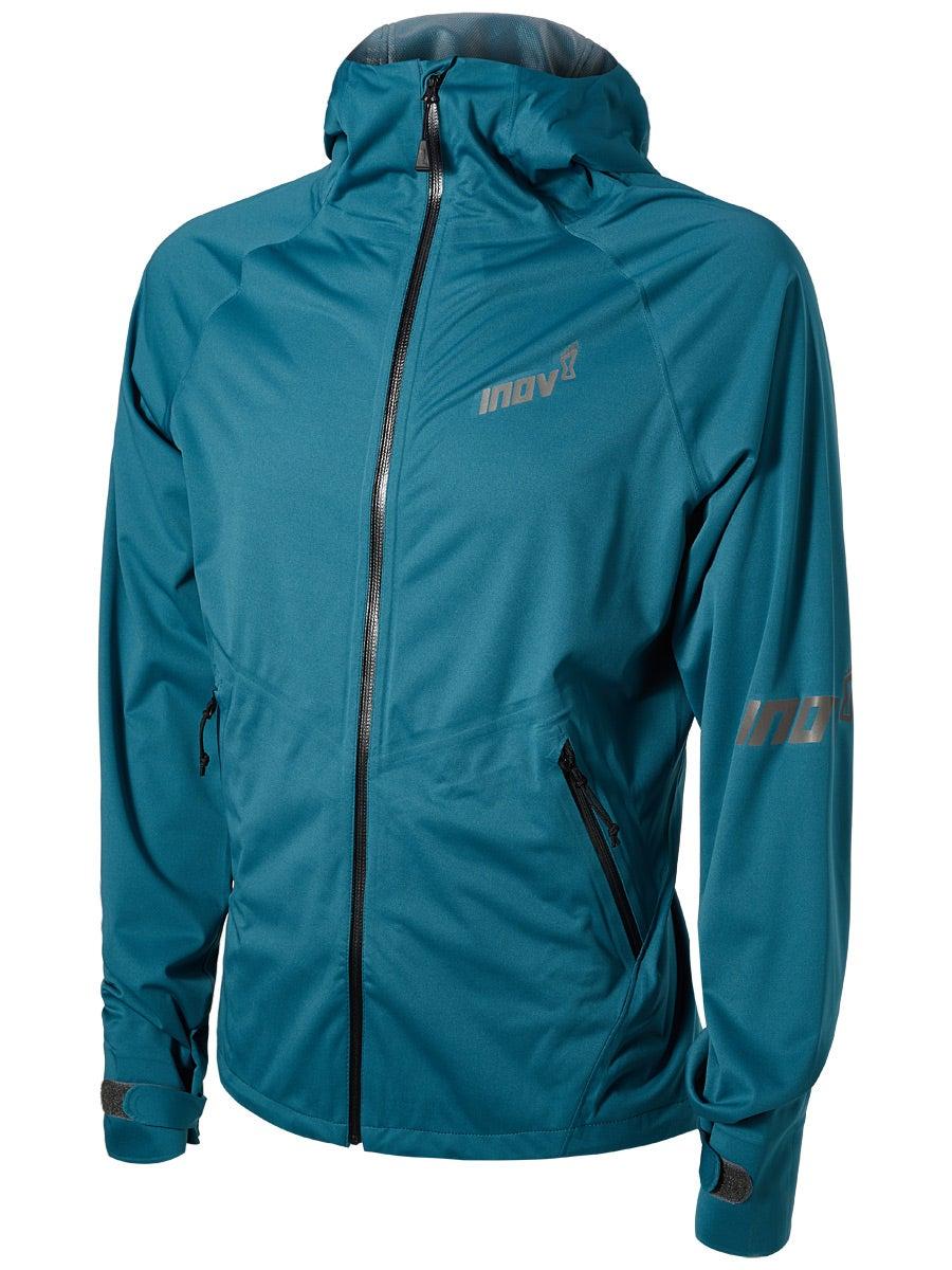 Blue Inov8 Thermoshell Pro Mens Running Jacket