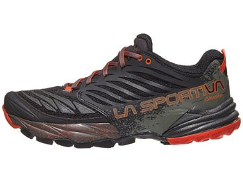 cd75edcaf9eb8 La Sportiva Akasha Men's Shoes Black/Tangerine