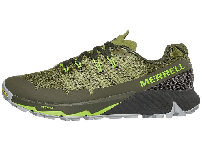 amazing price harmonious colors official photos Merrell Agility Peak Flex 3 Men's Shoes Olive