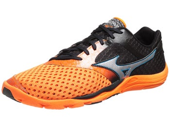 Mizuno Wave Evo Cursoris Mens Shoes Orange/Silver