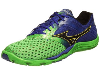 Mizuno Wave Evo Cursoris Mens Shoes Green/Blue
