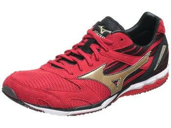 Mizuno Wave Ekiden Unisex Shoes Anthracite/Gold/Red