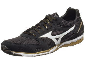 Mizuno Wave Ekiden Unisex Shoes Black/White/Gold