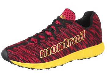 Montrail Rogue Fly Mens Shoes Barn Red/Laser Lemon