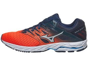 e0c1265228eb Mizuno Wave Shadow 2 Men's Shoes Flame/Dress Blue