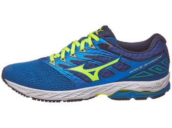 db400b32cc5c0c ... running shoes  mizuno wave shadow mens shoes directoire blue yellow