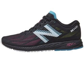 c1547e9a04b438 New Balance 1400 v6 Women s Shoes Black Pink Zing