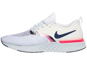 58698c90c4293 Nike Odyssey React 2 Flyknit PRM Women s Shoes Silver