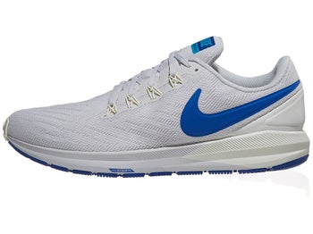 16f2963598eb Nike Zoom Structure 22 Men s Shoes Vast Grey Royal Blue