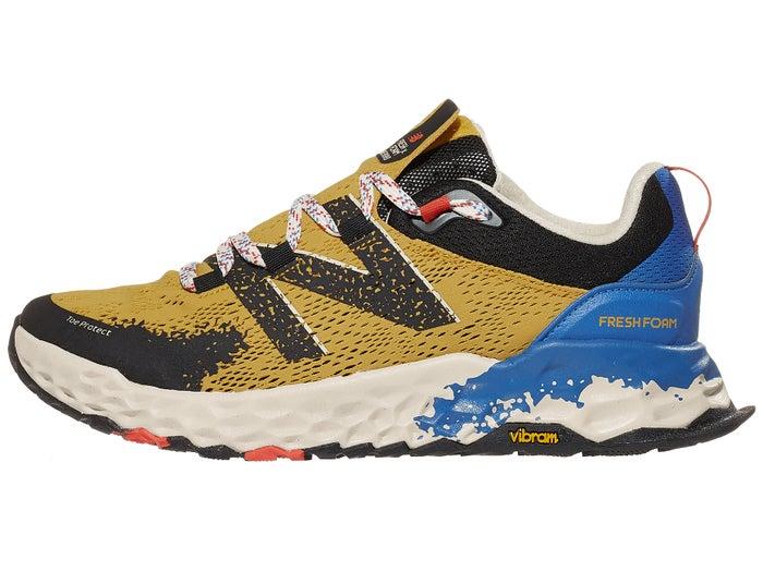 comprar más nuevo cupón de descuento conseguir baratas New Balance Fresh Foam Hierro v5 Men's Shoes Gold/Blue