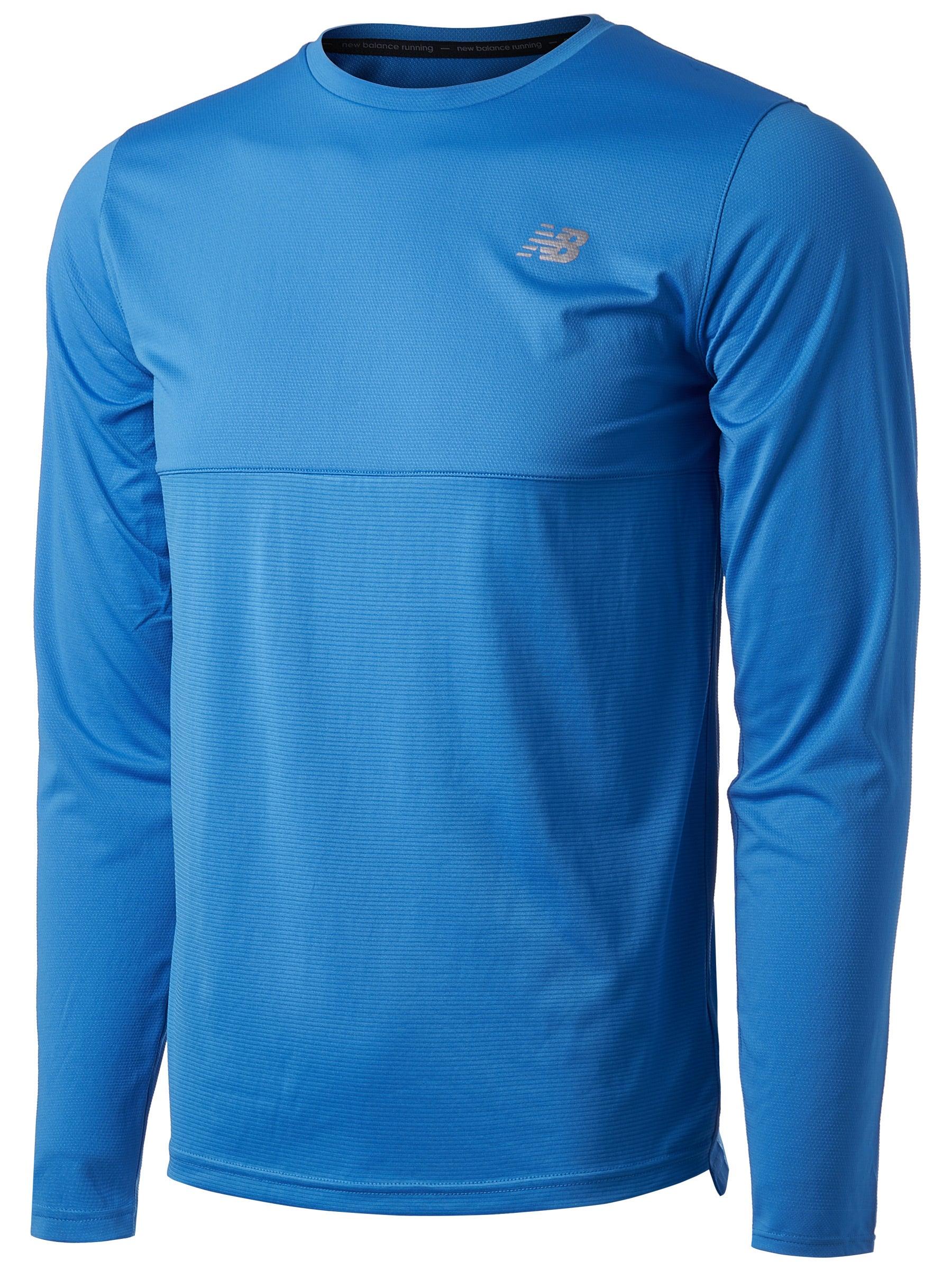 New Balance Mens Seasonless Breathable Lightweight Short Sleeve Running T-Shirt