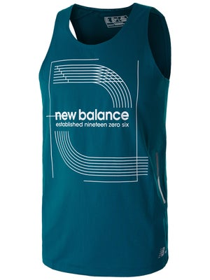45ff75ab207e New Balance Men s Spring Printed Ice 2.0 Singlet