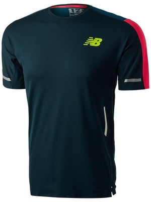 f5ea6b777e88f New Balance Men's Precision Run Short Sleeve