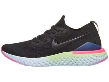 06c25f1ad004 Nike Epic React Flyknit 2 Women s Shoes Black Lime